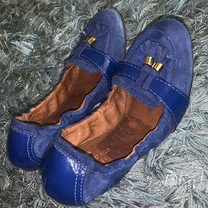 Kate Spade foldable ballet shoe